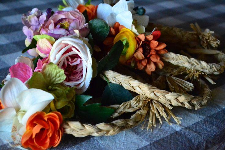 Coroncine floreali - Hippy chic di ChiacchiereDiCarta su Etsy