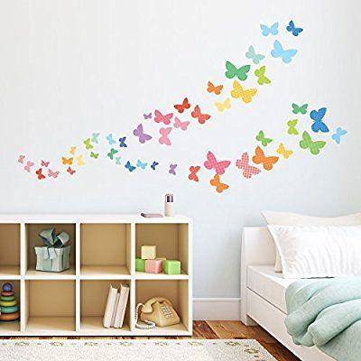 Mer enn 10 bra ideer om Wandtattoo schmetterling på Pinterest - wandtattoos für wohnzimmer