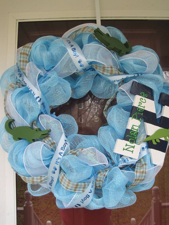 wreaths baby boy wreath baby showers deco baby youth wreaths baby