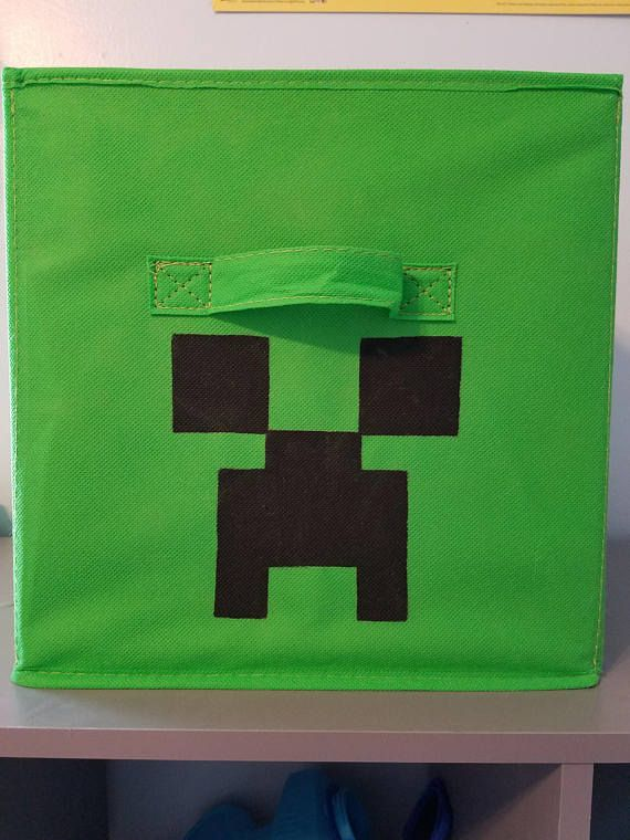 Creeper Minecraft Minecraft Storage Minecraft Inspired