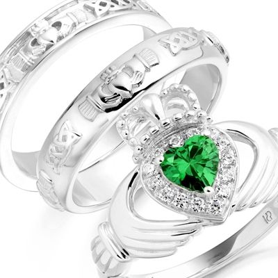 Irish Jewellers are selling Claddagh rings and Celtic rings in Ireland.