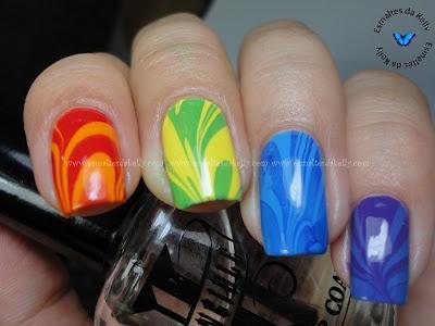 nail, nail, nail: Beautious Nails, Awwesome Nails, Water Marble Nails, Water Marbling Nails, Nail Ideas, Nail Art, Water Nails