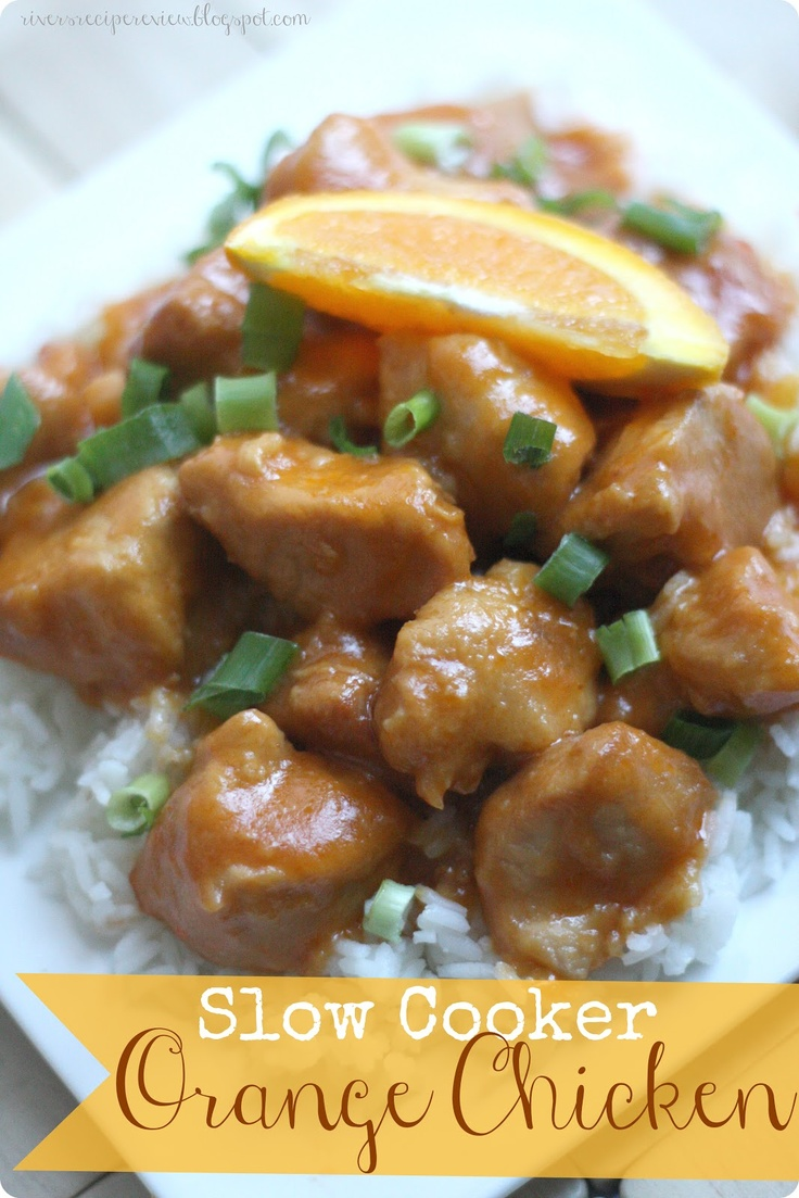 Slow Cooker Orange Chicken at http://therecipecritic.com One of the best things you will make in your crockpot. Delicious resturaunt quality at home!