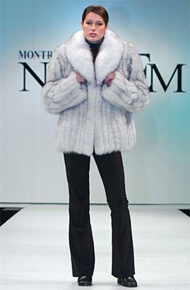 Fox Fur Jackets at the best prices on madisonavemall.com Blue Fox Fur $1095