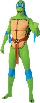 Teenage Mutant Ninja Turtles Leonardo 2nd Skin Suit. Large range of TMNT costumes available online.    Delivery is Australia wide.