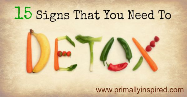 Do you need a detox? Learn the 15 signs that you have a stressed liver and what you need to do to safely detox so you can regain your health.
