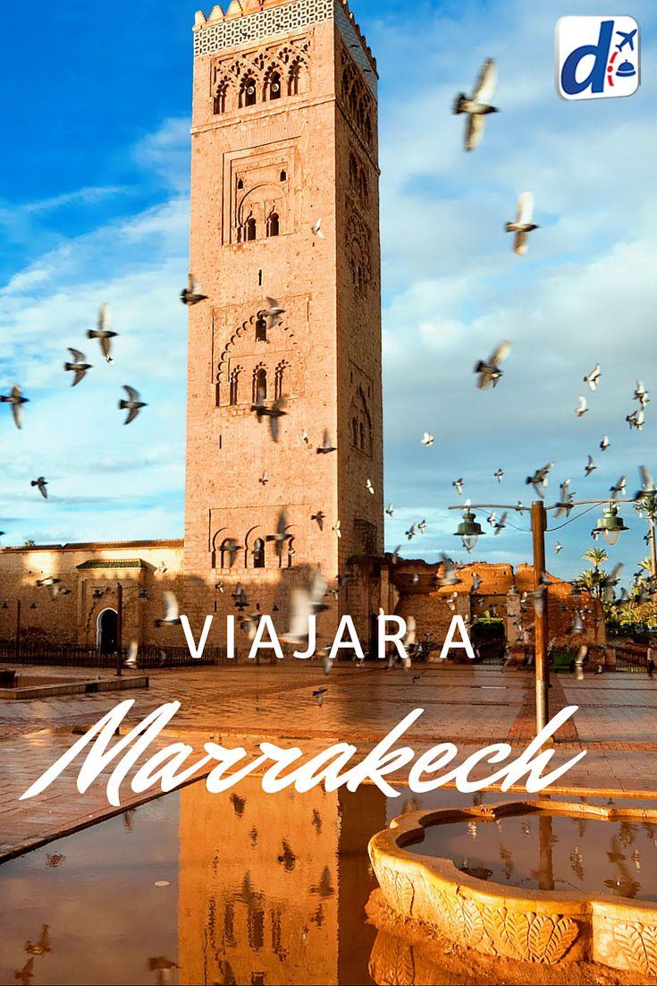 #Marrakech es una experiencia única y completamente diferente a las todas demás. Sus miles de sabores, exóticos olores y colores te llamarán enormemente la atención apenas llegar a esta fascinante ciudad de #Marruecos!