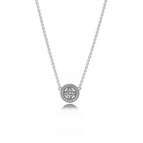 Pandora Halsband Äkta Silver Vintage Allure - Pandora Halsband - Pandora - Varumärken