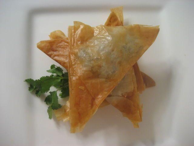 Prawn and Ricotta Triangles @ allrecipes.com.au