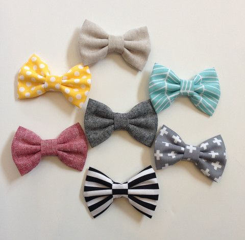 Clip-on Bow Ties - Various Colors Available – Roman & Leo