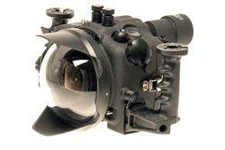 Aquatica 5D MK II- Canon 5D MK II Digital Camera Housing with dual bulkheads