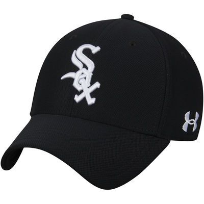 ab26a09f8 Men s Under Armour Black Chicago White Sox Blitzing Performance Adjustable  Hat