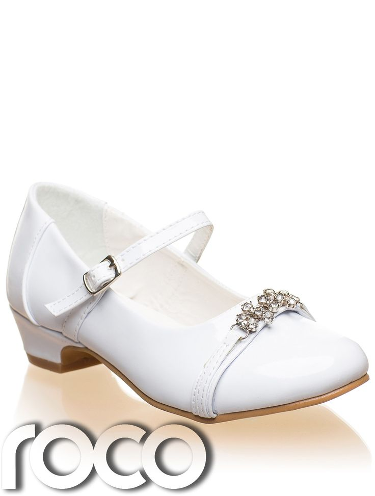 Girls White Shoes Communion Shoes Bridesmaid Shoes Prom Shoes Kids ...