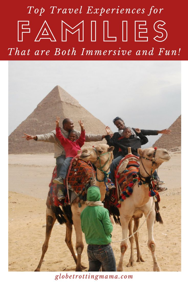 Looking for inspiration and ideas for your next family trip? These experiences are both immersive and fun and are bound to offer something everyone will enjoy. Spark a career interest, stay in a treehouse, explore a new destination with a local guide and more. Family travel tips for travel with kids and teenagers. | Globetrotting Mama Travel and Parenting Blog #FamilyTravel