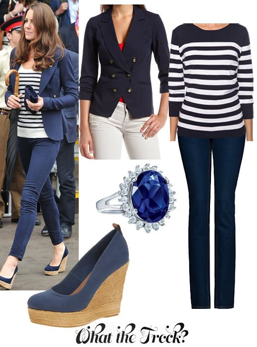 What the Frock? - Affordable Fashion Tips and Trends: Celebrity Look for Less: Kate Middleton Style