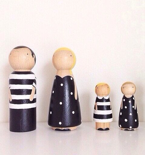 Black and White personalized family by madebylayla on Etsy, $60.00