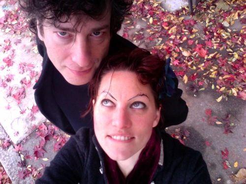 Neil Gaiman and Amanda Palmer. Perfect, adorable human beings ♥