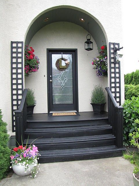 Making Your Entry Way Welcoming. As Most Of Us Do Not Go In Our Front