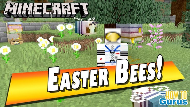 Minecraft Easter Bees! Free Download Easter Bees Resource