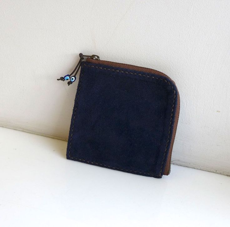 """Thanks for the kind words! ★★★★★ """"This coin purse is absolutely gorgeous. The craftsmanship is of a very high quality. I love my new purse. Also the little note attached to the envelope is a lovely touch. Thank you so much. I will be keeping a close eye on your shop.  """" Laura R.  #etsy #zippercoinpurse #zipperpurse #leatherzipperpouch #zipperpouch #coincase #coinpouch #leatherpouch #leathercoincase"""