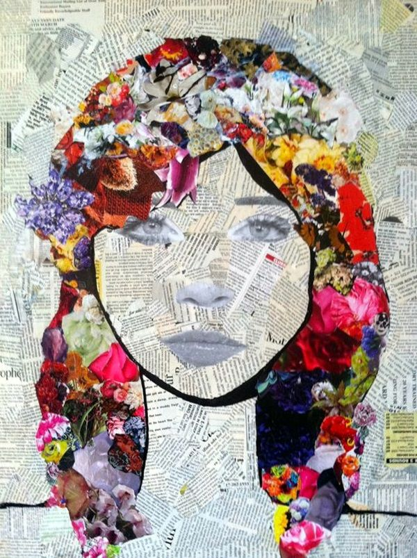 Best 25 Collage Art Ideas On Pinterest