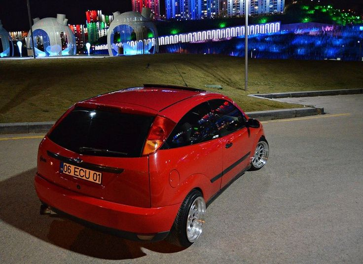 red ford focus mk1 low big rims ford focus st tuning. Black Bedroom Furniture Sets. Home Design Ideas
