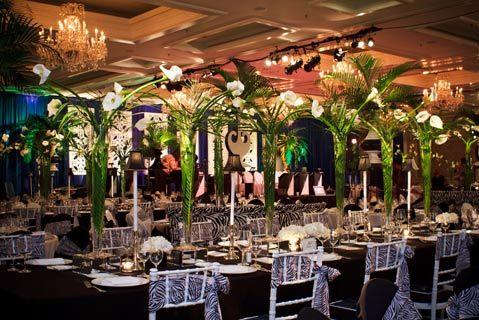 1940s centerpiece ideas | Palm Tree Centerpiece Ideas  http://www.bizbash.com/service_club_gala ... | Event ideas | Pinterest |  Service club, Tree ... - 1940s Centerpiece Ideas Palm Tree Centerpiece Ideas Http://www