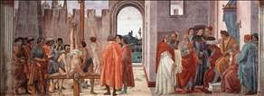 Disputation with Simon Magus and Crucifixion of Peter