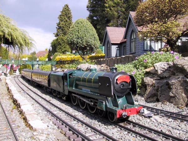 89 best Garden Trains and Rail Roads images on Pinterest Garden