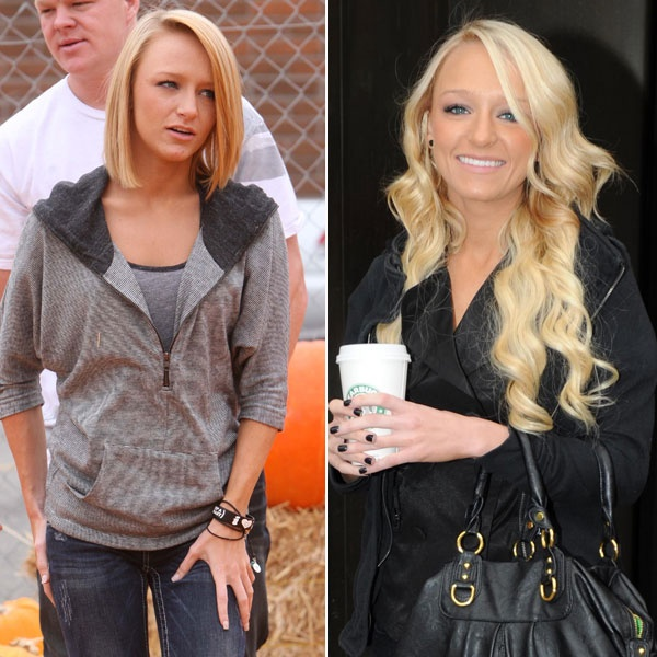 The short cut, minus the color.  I think I'm going to do it! Maci teen mom - Bing Images
