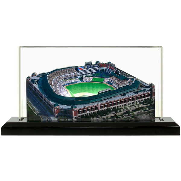 "Texas Rangers 13"" x 6"" Rangers Ballpark at Arlington Light Up Replica Ballpark - $199.99"