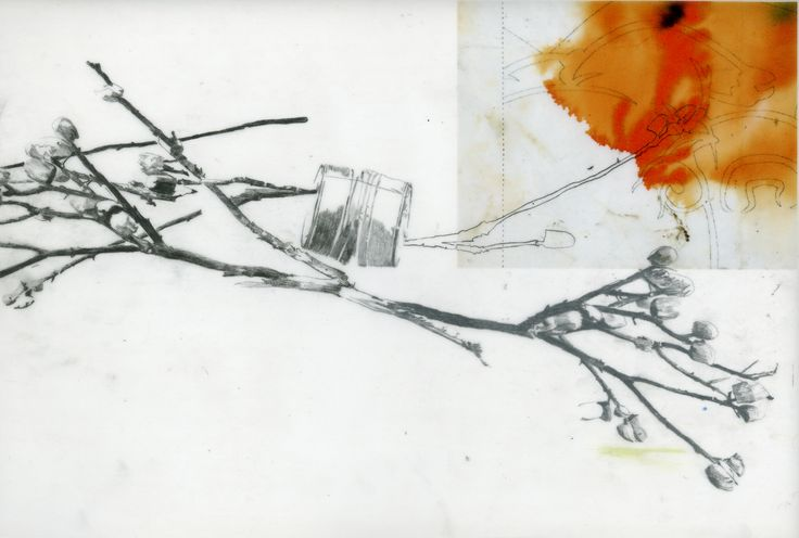 Sans titre  Impression numérique et graphite sur papier calque.   2008
