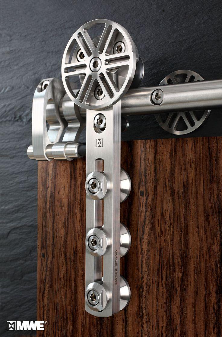 HOT! CHRONOS door hardware manufactured by MWE! Great! Visit us: www.mwe.de/en/door-systems/sliding-doors/classical-sliding-doors/sliding-door-chronos