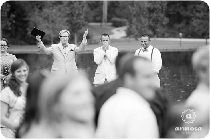THIS is the reaction every bride goes for. Got chill bumps.