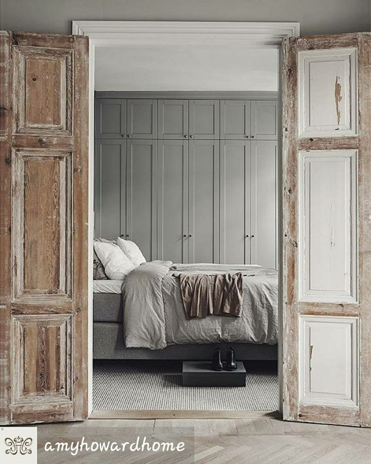 Toscana white on outside doors (With images) Bedroom