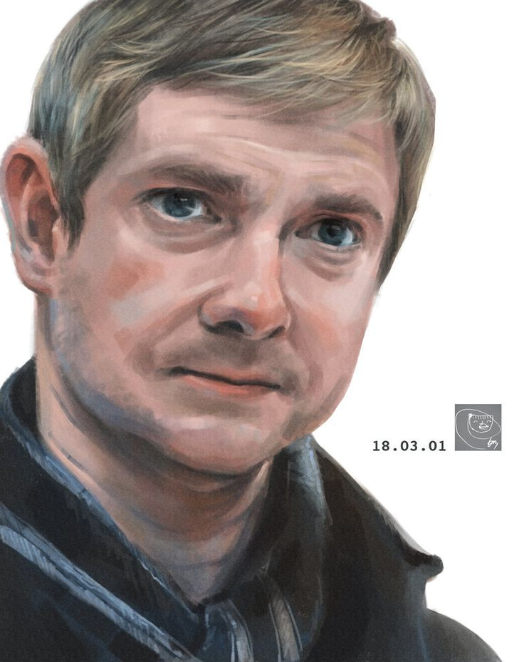 Martin Freeman in Sherlock by PPIRI.deviantart.com on @DeviantArt