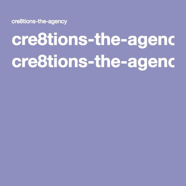 cre8tions-the-agency