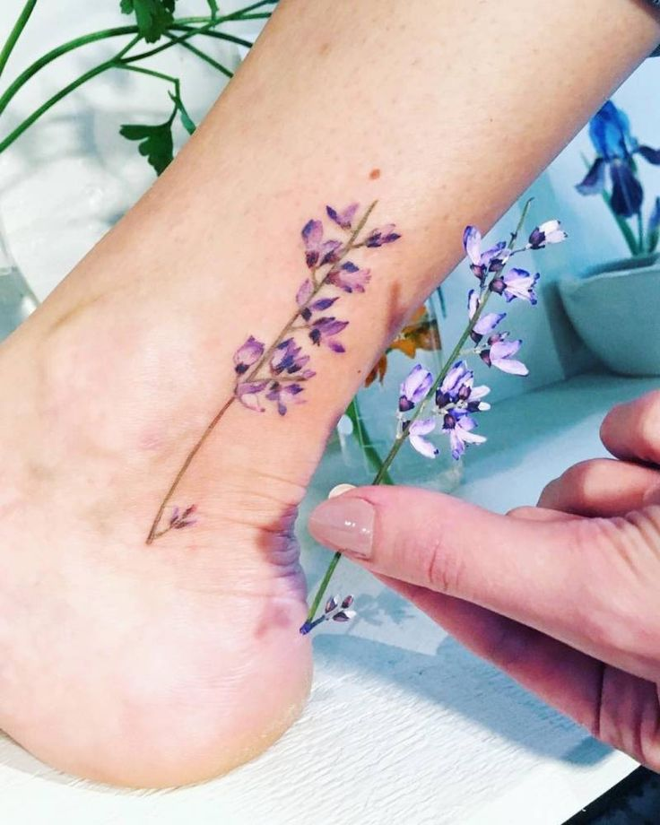 Small Flower Tattoos: 238 Best Tatuajes En El Tobillo Images On Pinterest