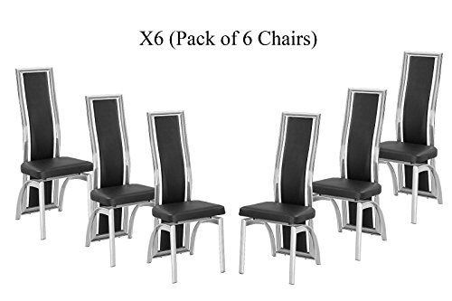 X6 Black Dining Chairs in Faux Leather Foam Padded and so... https://www.amazon.co.uk/dp/B01B9T9F6A/ref=cm_sw_r_pi_dp_x_3up-xbWCMPHBE