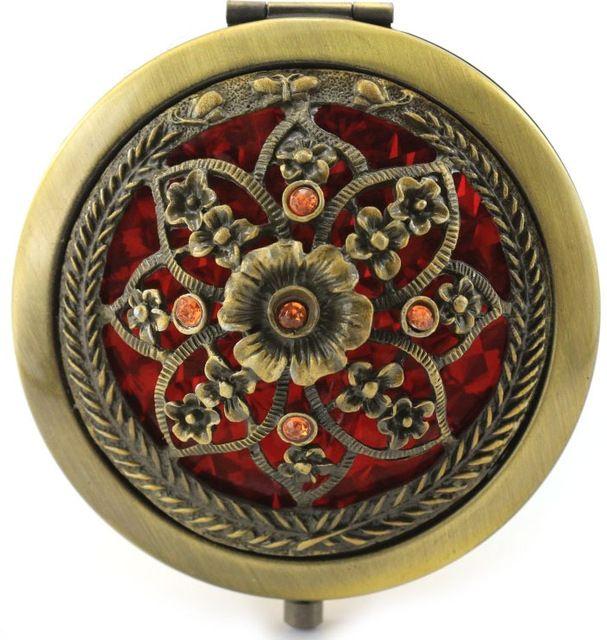 Высокое качество Европейского зеркало Женщины Зеркало Для Макияжа Зеркала Компактное Зеркало Мини espelho Старинные