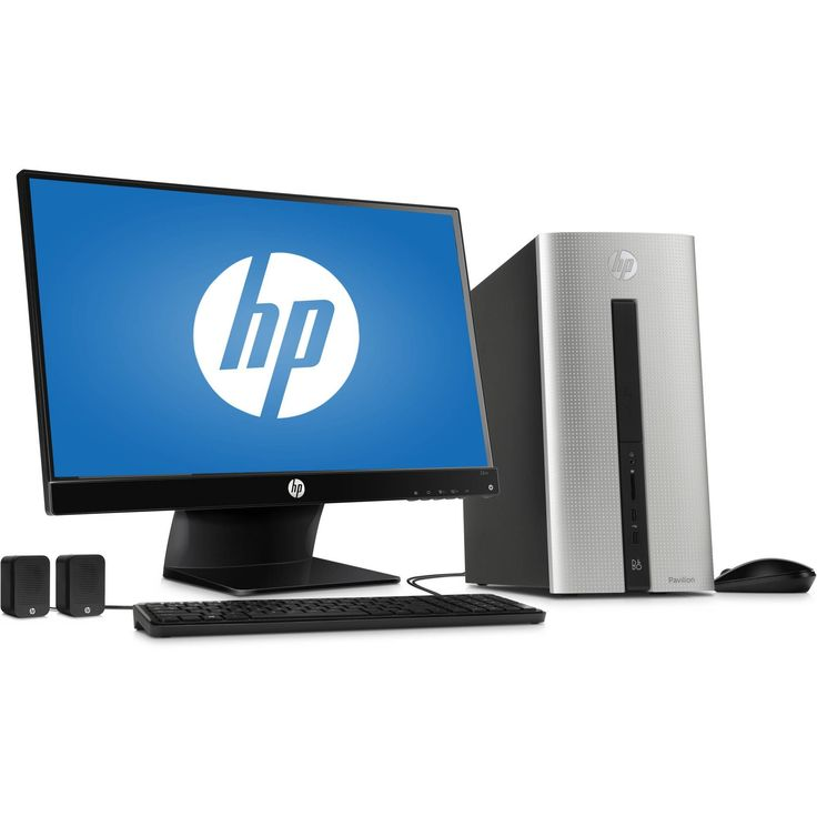 HP Pavilion 550-153wb Desktop PC with Intel Core i3-4170 Dual-Core Processor, 6GB Memory, 23 Monitor, 1TB Hard Drive and Windows