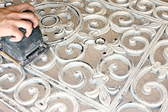 Salvage Dior: Rubber Door Mat Wall Art {DIY}