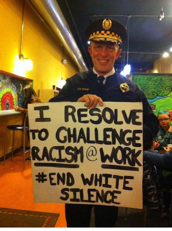 #BlackLivesMatter - Pittsburgh police chief's call to 'challenge racism' angers union head: 'He's insinuating we're racist!' <~~ Because you are!