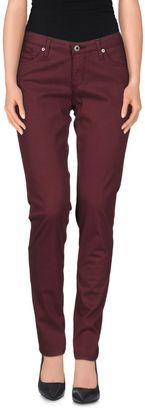 AG ADRIANO GOLDSCHMIED Casual pants - Shop for women's Pants - Maroon Pants