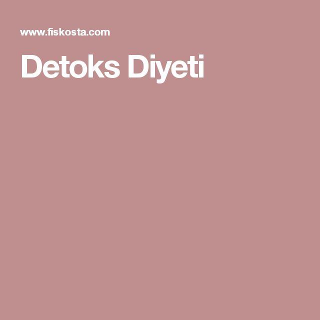Detoks Diyeti