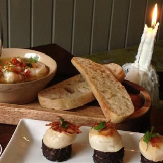 Tapas for 2 in Gourmet Food Parlour.  Gourmet Food Parlour is a collection of award-winning cafes, restaurants, tapas & wine bars offering exquisite homemade artisan food, tapas, specialties & wine in an atmosphere suggestive of European cafe culture.