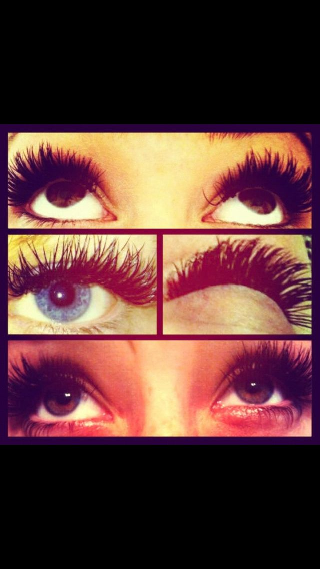 Lashes.  Individual lash extensions.  Lashes by Jandy Taylor a lash extension specialist. @Jess Becker-Anderson HairExtensions Taylor