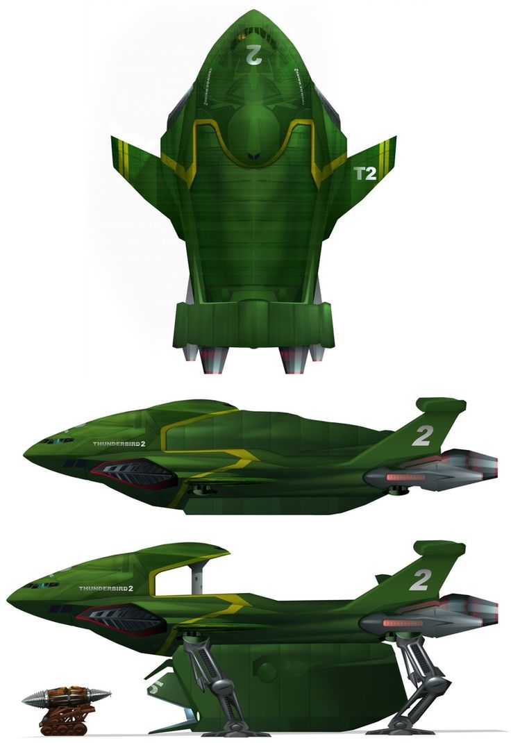 Thunderbird 2 redesign by Harnois75.deviantart.com on @deviantART
