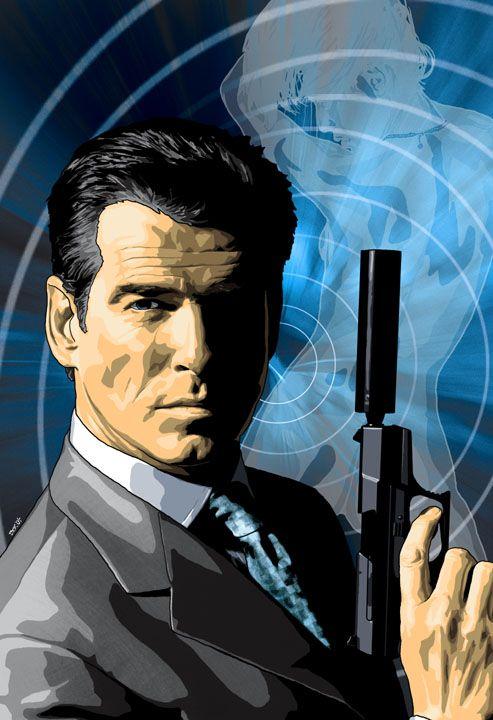 Pierce Brosnan's James Bond