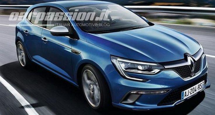 Renault Mégane 2016, ¿primeras imágenes filtradas? - http://www.actualidadmotor.com/renault-megane-2016-imagenes-filtradas/